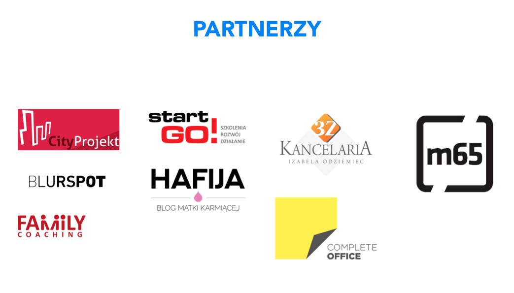 Partnerzy II Forum Przedsiębiorczych Mam